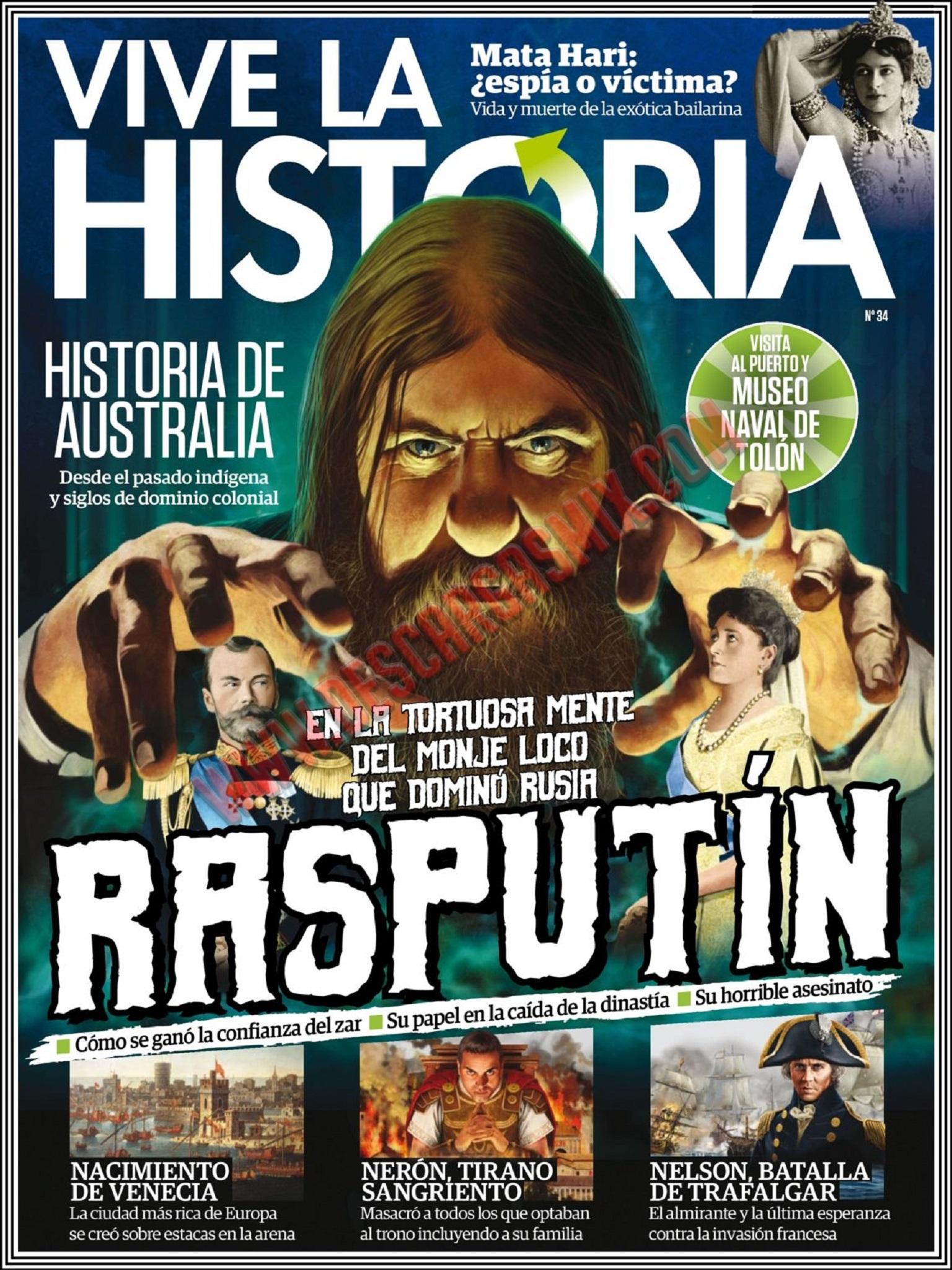 Vive la Historia N 34 - Junio y Julio 2017