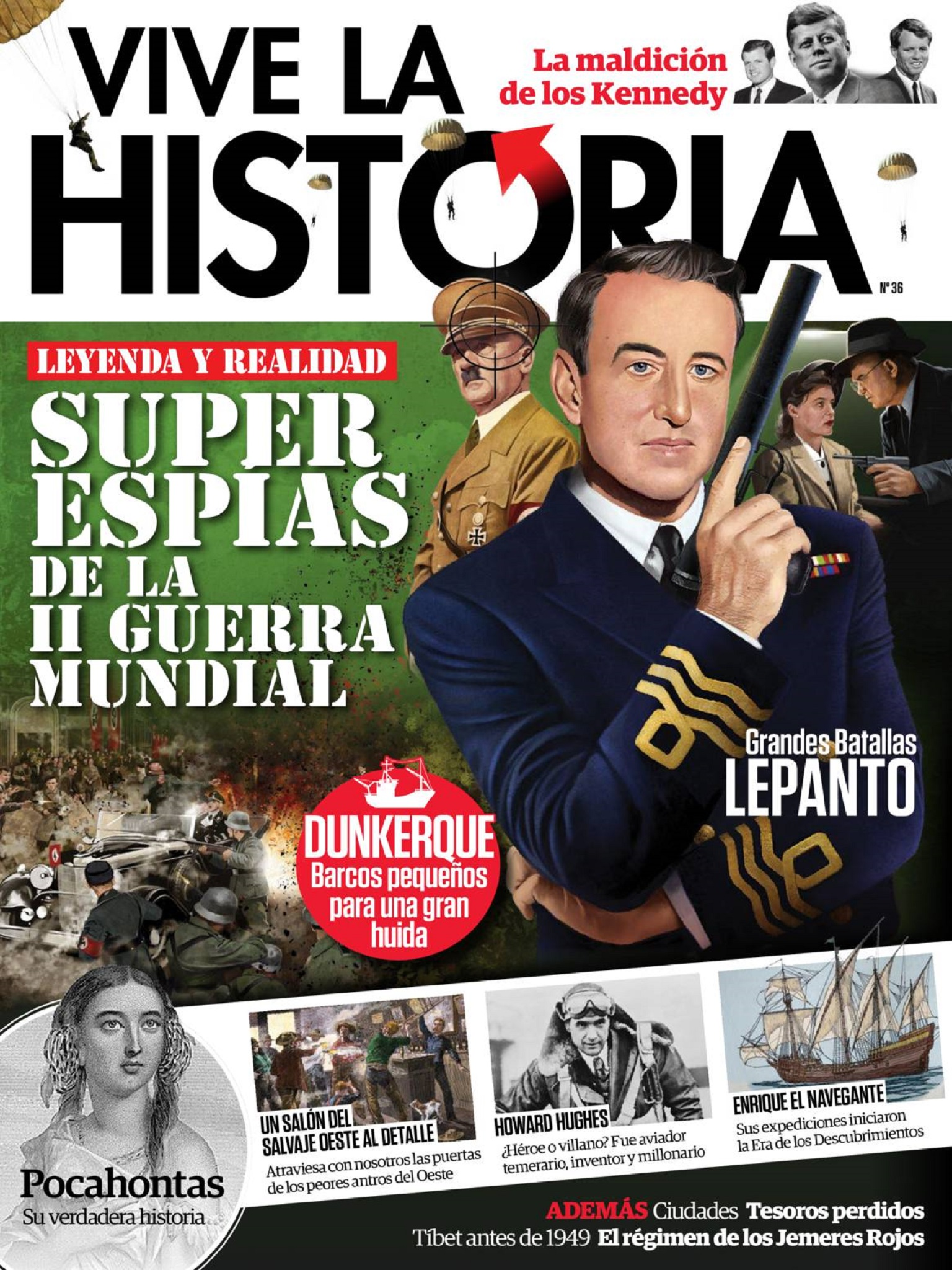 Vive la Historia N 36 - Octubre y Noviembre 2017