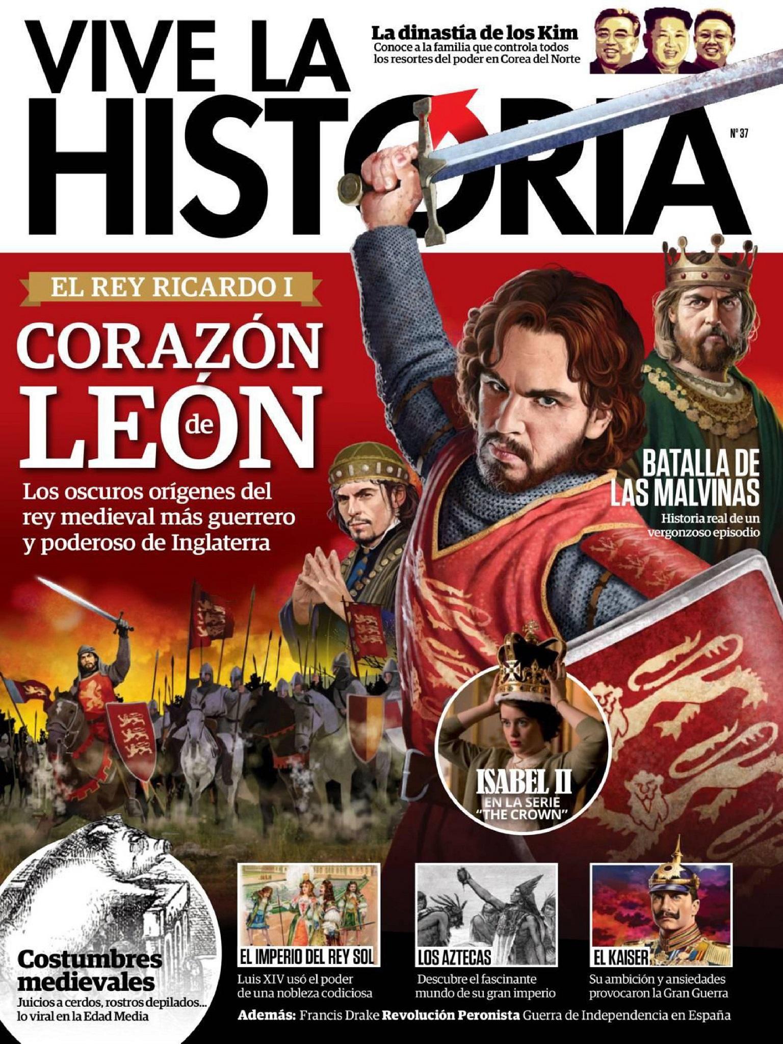 Vive la Historia N 37 - Diciembre 2017 y Enero 2018