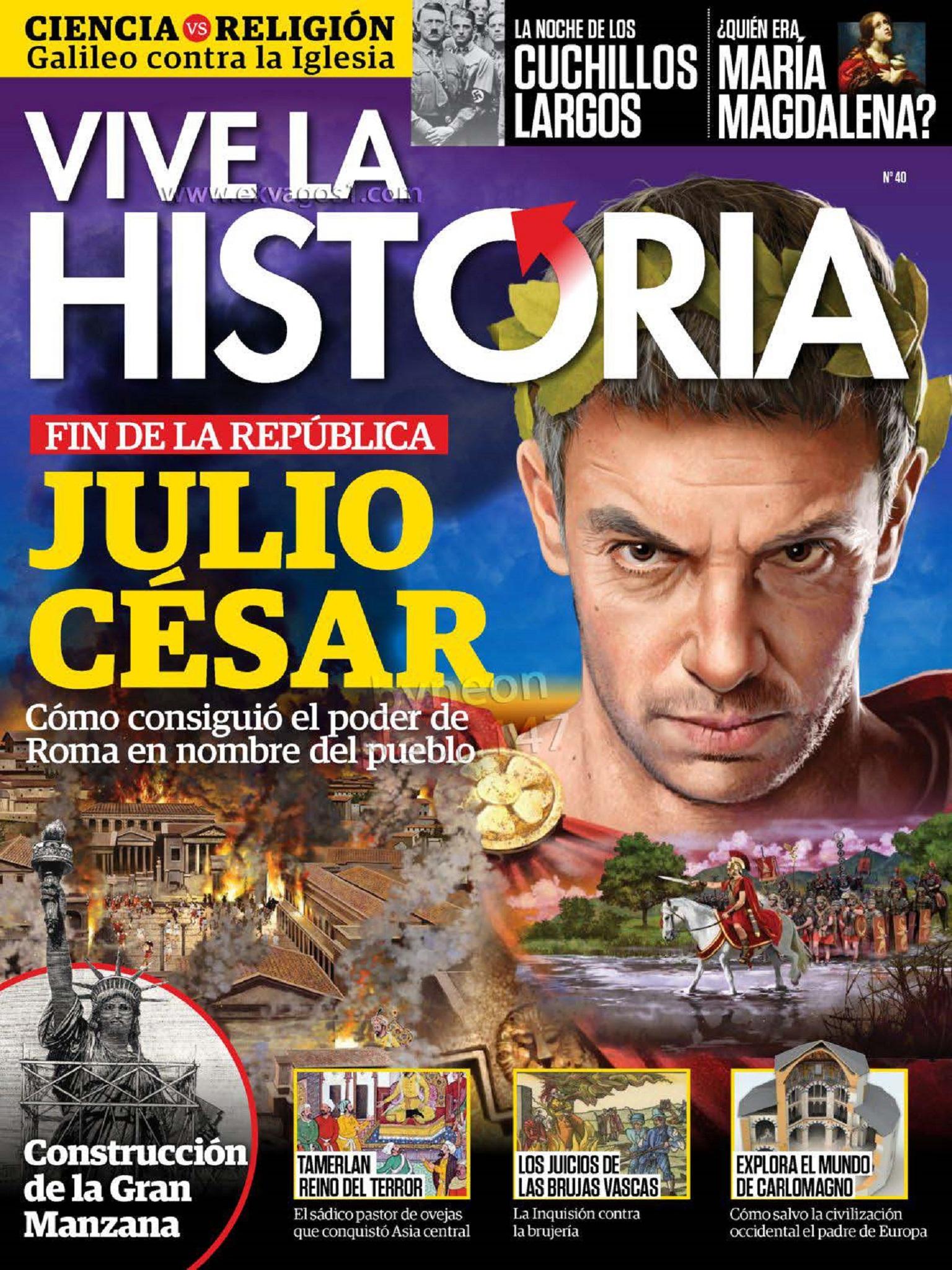 Vive la Historia N 40 - Junio - Julio 2018