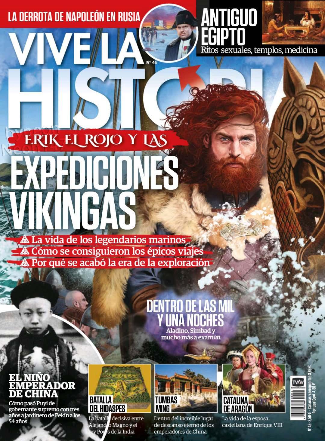 Vive la Historia No. 46 - Junio - Julio 2019