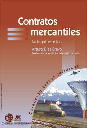 Contratos Mercantiles - Arturo Díaz Bravo