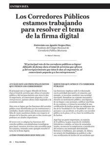 Corredores públicos firma digital