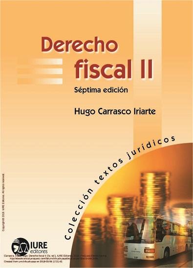 Derecho Fiscal II - Hugo Carrasco Iriarte