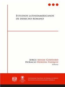 Estudios latinoamericanos de derecho romano
