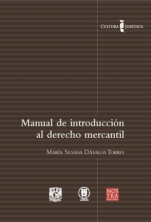 Manual de introducción al derecho mercanti_Colección cultura jurídica