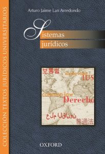 Sistemas jurídicos, Oxford University Press México 2016