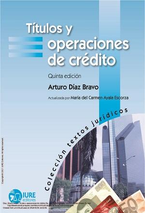 Títulos y Operaciones de Crédito - Arturo Díaz Bravo