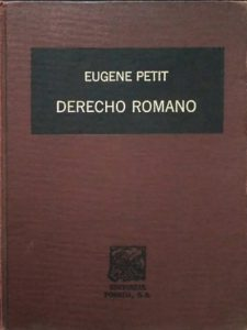 Tratado elemental de Derecho Romano