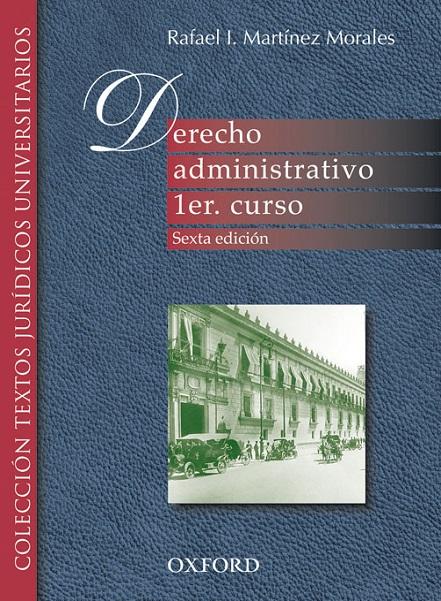 Derecho administrativo 1er. curso