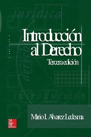 Introduccion Al Estudio Del Derecho - Mario Ignacio Alvarez Ledesma