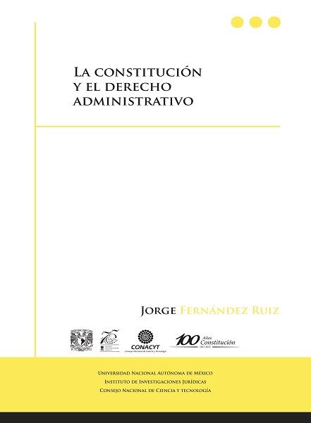 La Constittución y el Derecho Administrativo