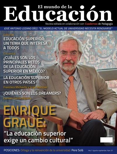 El Mundo de la Educación No. 1 Agosto-Septiembre 2017