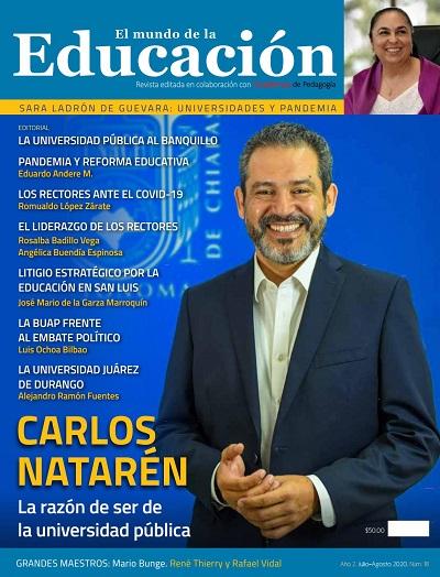 El Mundo de la Educación - No. 18 Julio-Agosto 2020