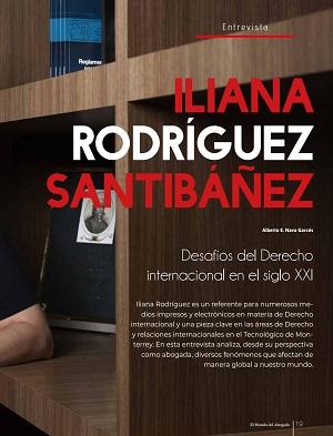 Entrevista a Iliana Rodríguez Ibáñez