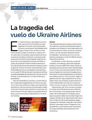 La tragedia del vuelo de Ukraine Airlines