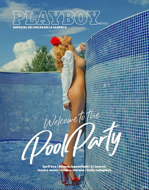 Playboy Mèxico Junio 2020 - Especial de chicas en la alberca