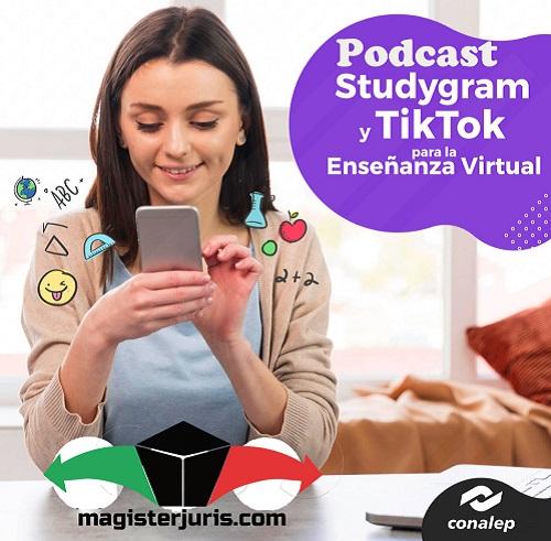 Podcast, studygram, tiktok para el aprendizaje
