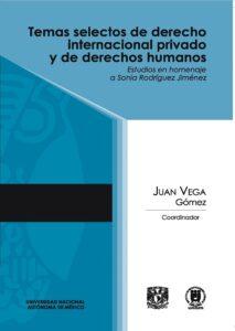 Temas selectos de derecho internacional privado y DDHH.