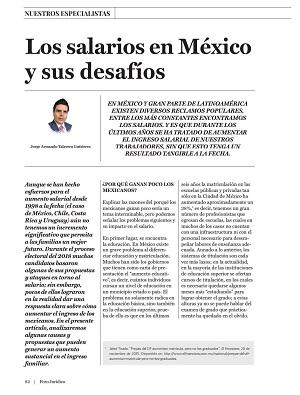 Salarios en México y sus desafíos