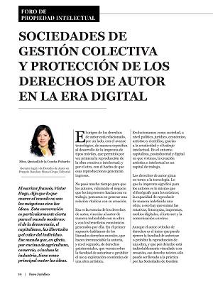 Sociedades de Gestión Colectiva _Derechos de Autor
