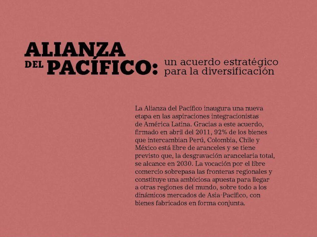 Alianza del pacífico un acuerdo estratégico para la diversificación