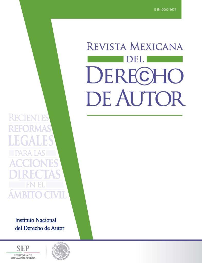 Revista Mexicana del Derecho de Autor Núm. 3 Indautor