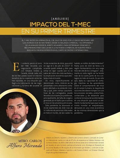 Impacto del T-MEC en su primer semestre