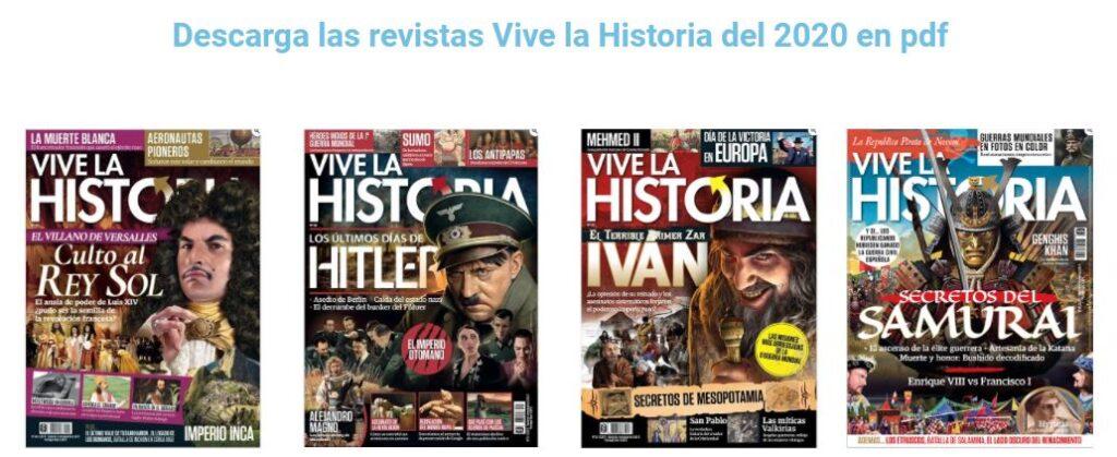 descarga revista vive la historia