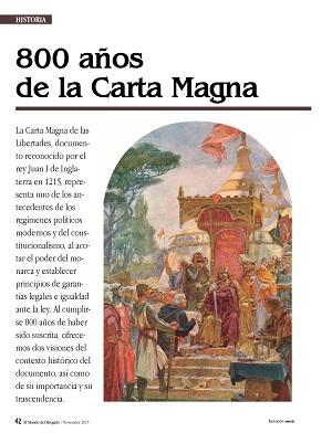800 años de la Carta Magna