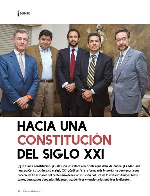 Debate hacia una constitución del siglo XXI