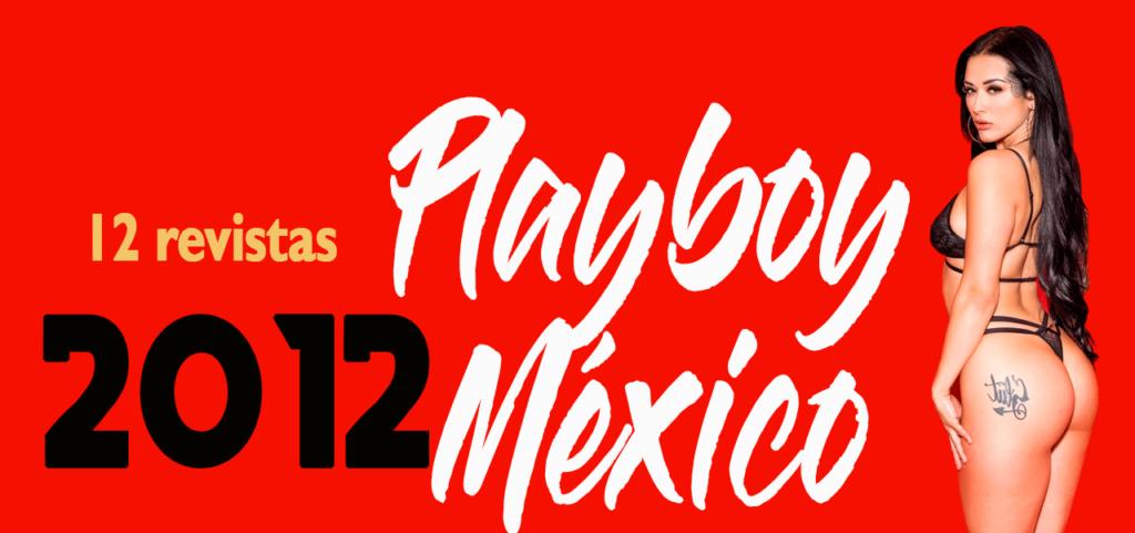 Revistas playboy México 2012