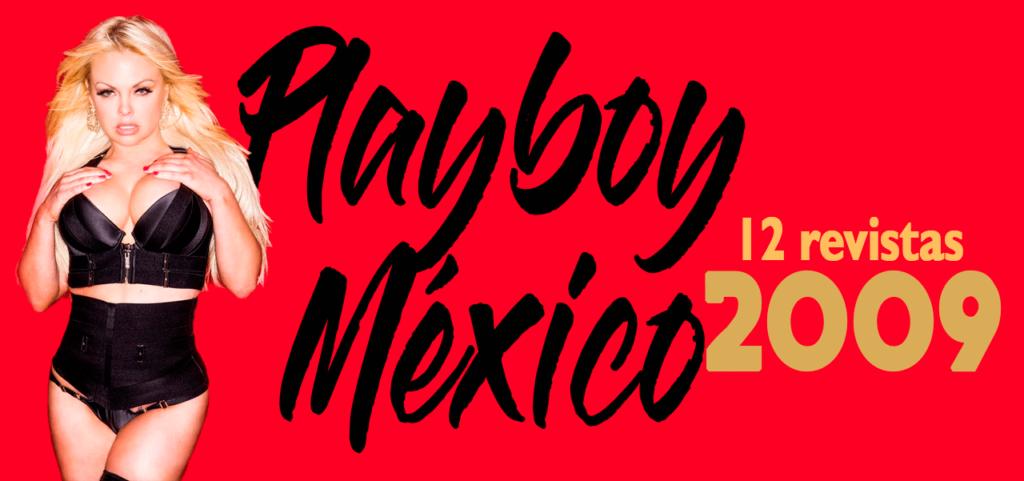 Revistas playboy 2009