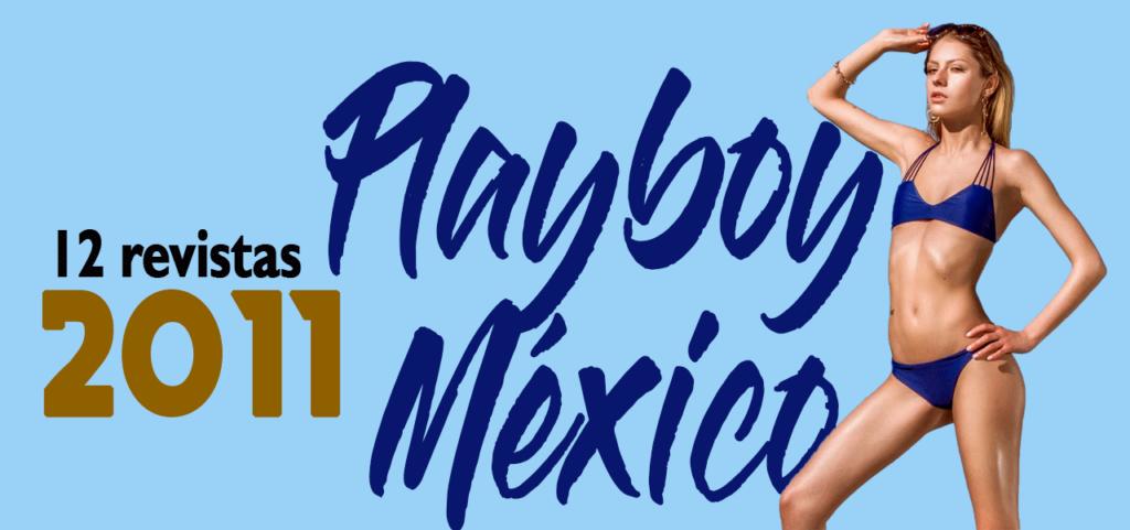 Revista playboy México 2011