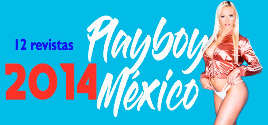 Revistas playboy México 2014