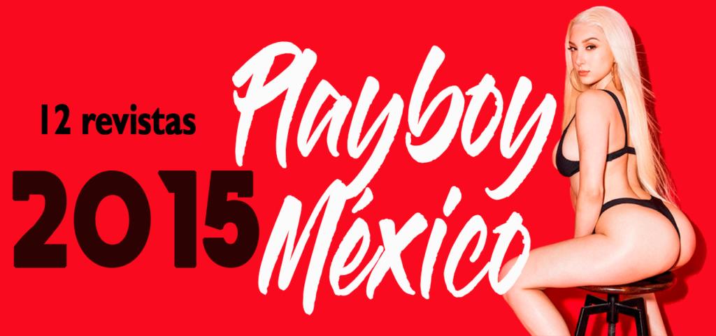 Revistas playboy México 2015