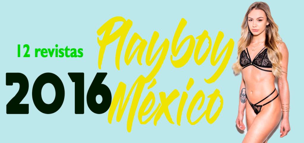 Revistas playboy México 2016