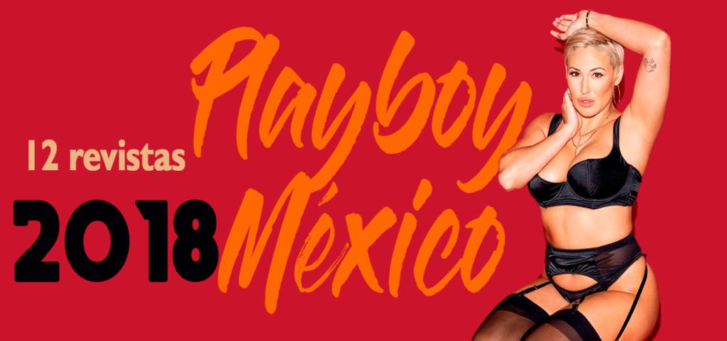 Revistas playboy México 2018
