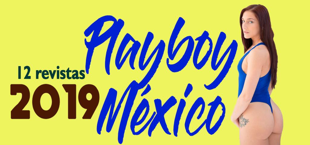 Revistas Playboy México 2019