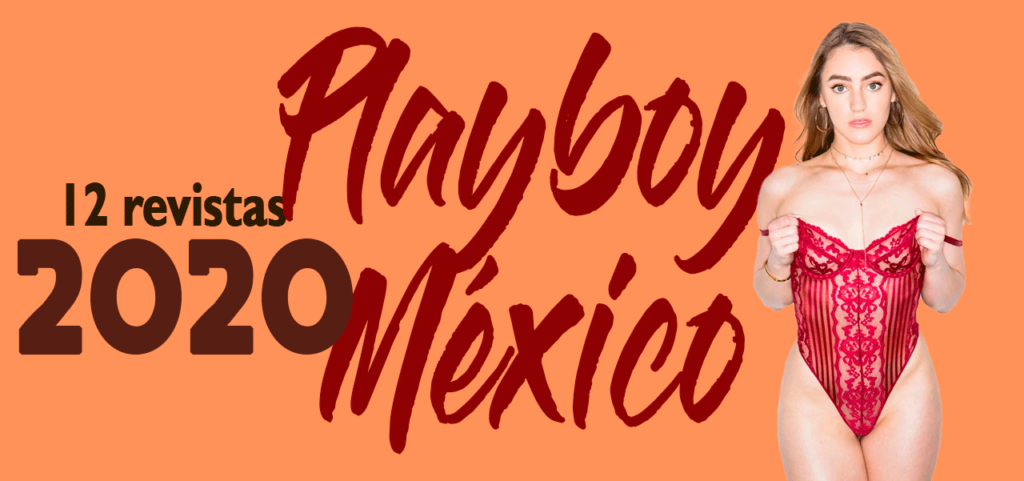 Revistas playboy México 2020