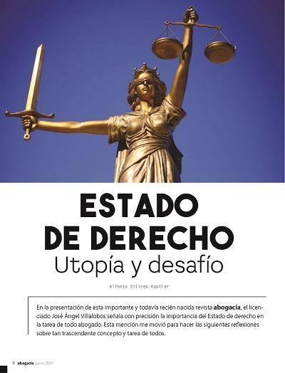 Estado de Derecho_Utopía y desafío - Alfonso Siliceo Aguilar