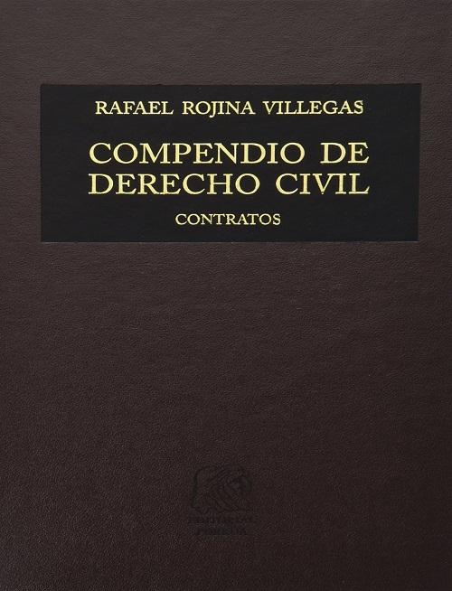 Compendio de Derecho Civil IV - Contratos -Rafael Rojina Villegas