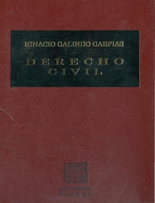 Derecho Civil - Ignacio Galindo Garfias