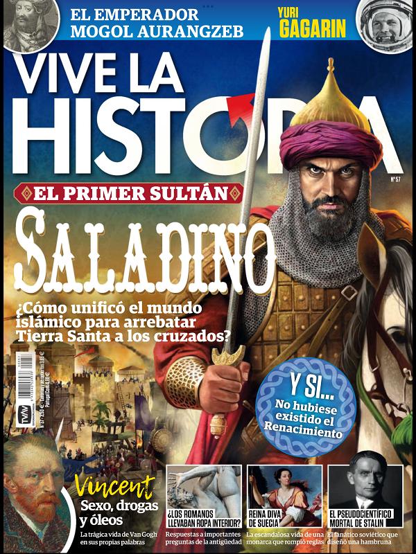 Vive la historia No. 57 Junio - Julio 2021